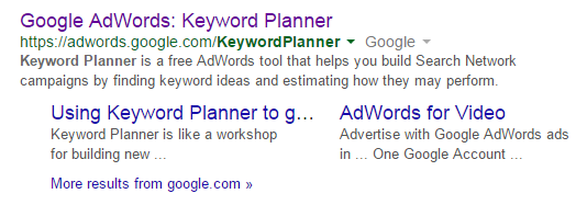 Local SEO - Keyword Planner
